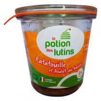 La Potion des Lutins - Ratatouille et poulet au basilic 9+ bio 100g