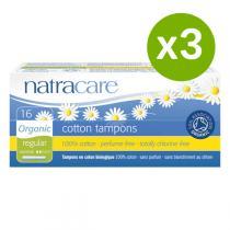 Natracare - Lot de 3 x Tampons Normal avec applicateur x16
