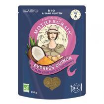 Quinola Mothergrain - Express Quinoa & Pois chiches à l'Indienne 250g