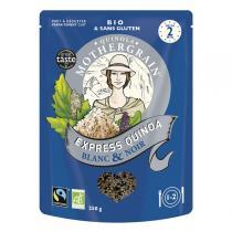 Quinola Mothergrain - Express Quinoa Blanc & Noir 250g