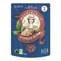 Quinola Mothergrain - Express Quinoa Blanc & Rouge 250g