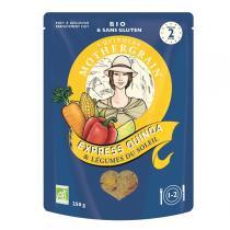 Quinola Mothergrain - Express Quinoa & Légumes du soleil 250g