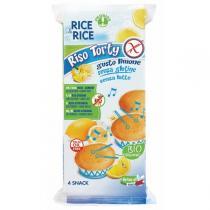 Rice&Rice - Gâteaux rice torty citron 4x45gr