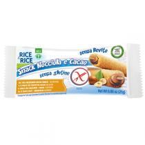 Rice&Rice - Snacks de riz fourrés aux noisettes 25gr