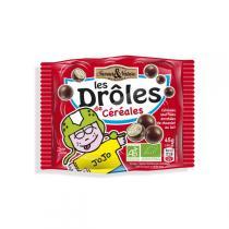 Saveurs & Nature - Billes 3 céréales enrobées de chocolat au lait - 45g