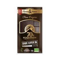 Saveurs & Nature - Chocolat noir 70% Équateur - 100g