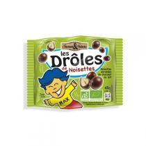 Saveurs & Nature - Noisettes enrobées de chocolat au lait - 45g