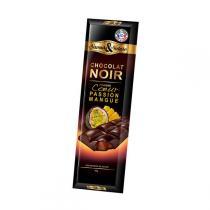 Saveurs & Nature - Chocolat noir 70% fourré Mangue-Passion - 80g