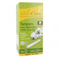 Silver Care - Lot de 3 x 16 Tampons Coton bio Normal