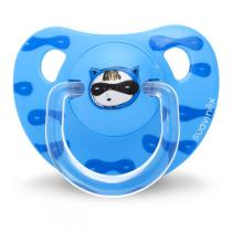 Suavinex - Sucette silicone physio +6/18m super héros bleu
