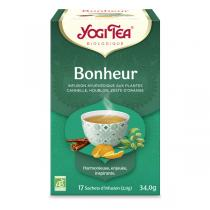 Yogi Tea - Offre 6 lots d'Infusion Bonheur 17 sachets