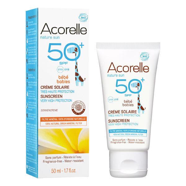 Acorelle - Creme Solaire Bebe SPF 50+ 50 ml