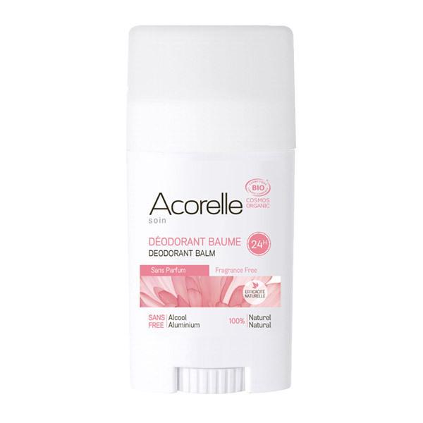 Acorelle - Déodorant Baume Sans Parfum - Stick de 40 g