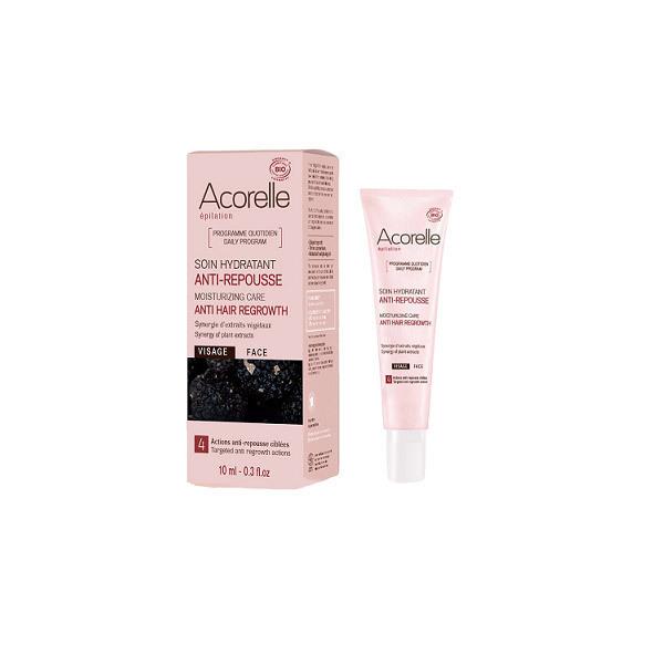 Soin hydratant anti repousse visage 10 ml acorelle for Anti repousse poil maison