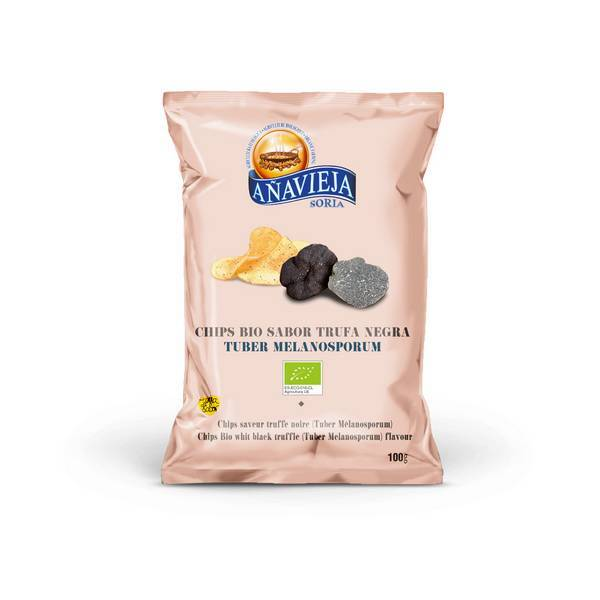 Aperitivos de Añavieja - Chips à la truffe noir 100g