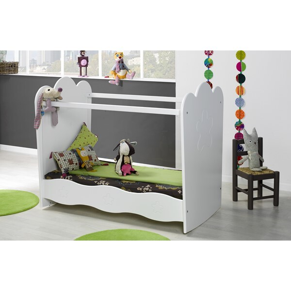 lit b b lin a plexi 60x120cm blanc b b provence la r f rence bien tre bio b b. Black Bedroom Furniture Sets. Home Design Ideas