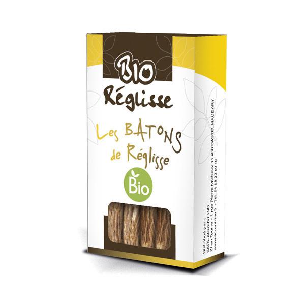 Bio Réglisse - Baton de réglisse format pocket 15g