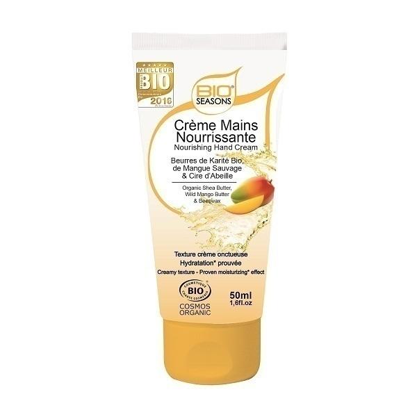 Bio seasons - Crème Mains nourrissante 50ml