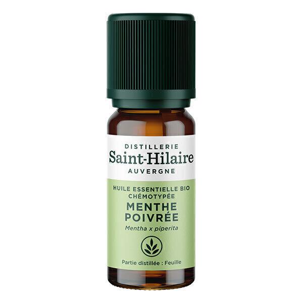 Distillerie Saint-Hilaire - Huile essentielle Menthe Poivrée BIO 10ml