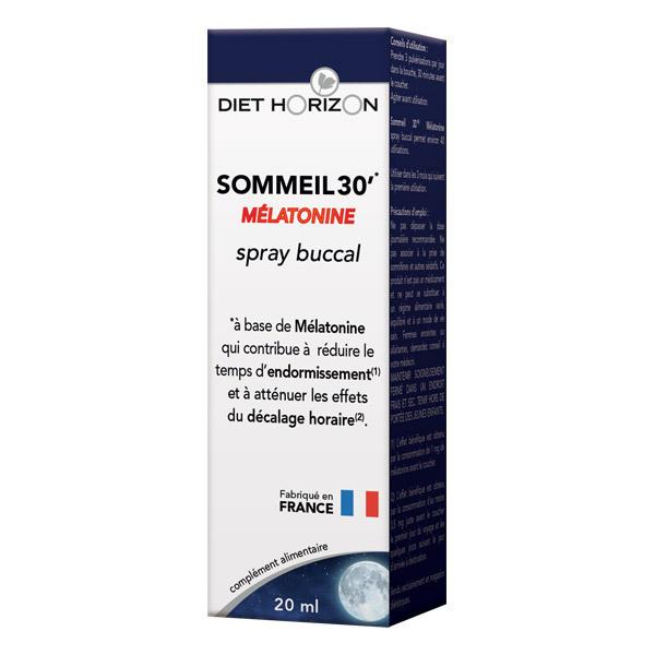 Diet Horizon - Spray buccal Sommeil 30' Mélatonine - 20ml
