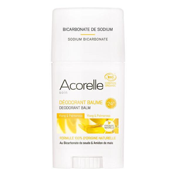 Acorelle - Deodorant Baume Ylang Ylang Palmarosa - Stick de 40 g