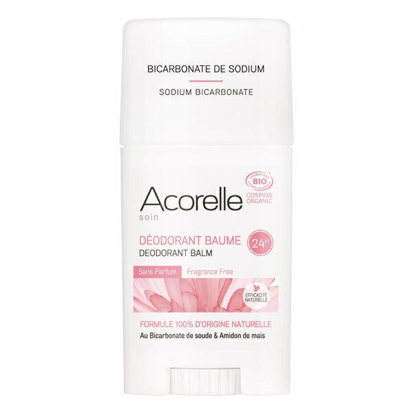 Acorelle - Deodorant Baume Sans Parfum - Stick de 40 g