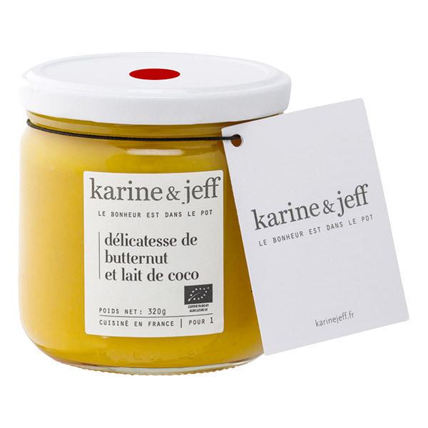 Karine & Jeff - Mousseline de butternut et lait de coco 320g