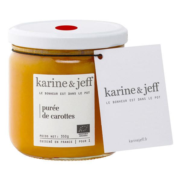 Karine & Jeff - Purée de carottes 350g