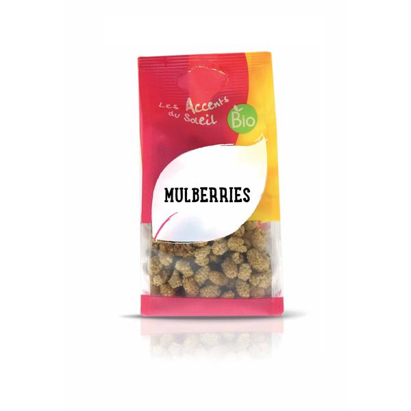 Les Accents du Soleil - Mulberries bio 125g