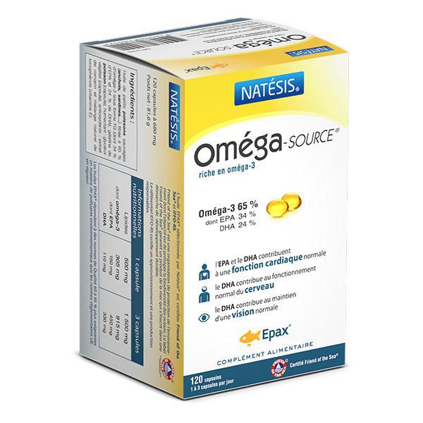 Natésis - Complément alimentaire OmégaSource 120 cps