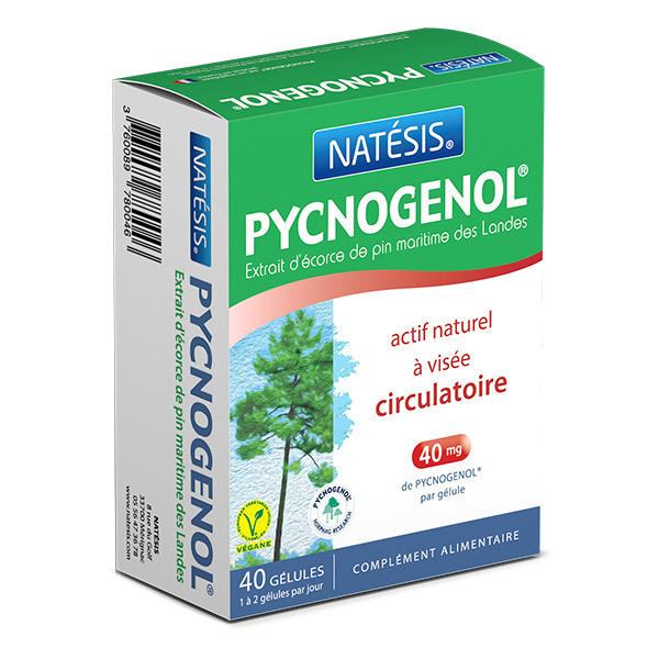 Natésis - Pycnogenol Extrait d'écorce de pin x 40 gélules