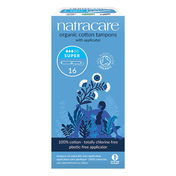 Natracare - Lot de 3 x Tampons Super avec applicateur x16