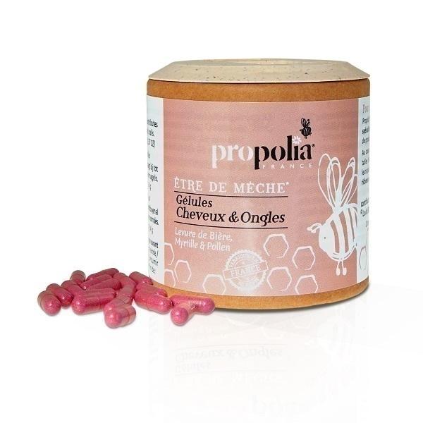 Propolia - Gélules Cheveux & Ongles Être de Mèche x 90 Gélules