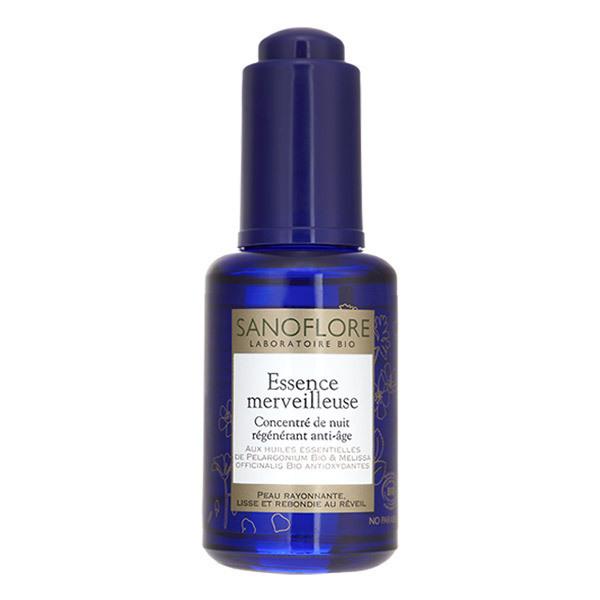 Sanoflore - Essence merveilleuse concentré de nuit anti-âge bio 30ml