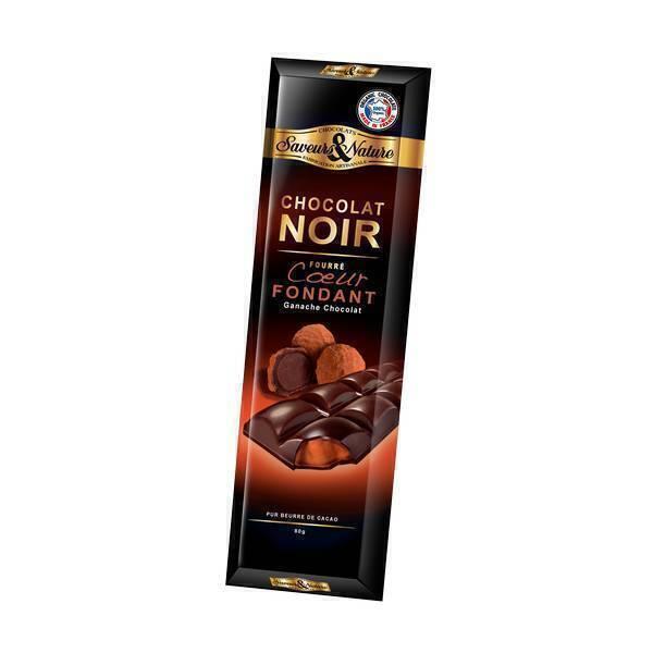 chocolat noir 70 fourr supr me fondant 80g saveurs nature acheter sur. Black Bedroom Furniture Sets. Home Design Ideas