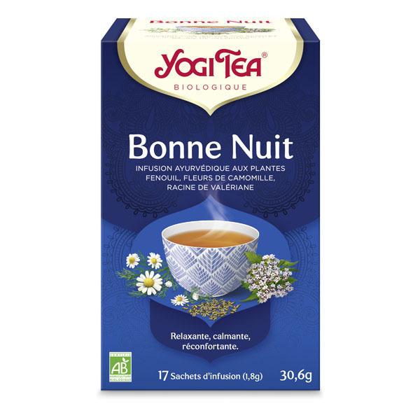 Yogi Tea - Offre 6 lots d'infusion Bonne Nuit x 17sachets