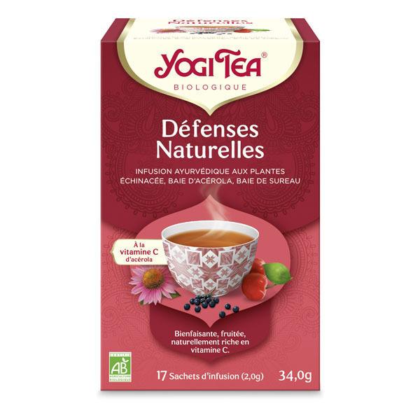 Yogi Tea - Offre 6 lots d'Infusion Défenses Naturelles Bio 17 sachets