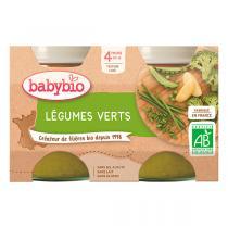 Babybio - Babybio Légumes Verts dès 4mois 2 x 130g