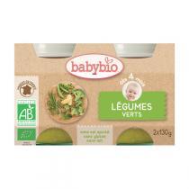 Babybio - Babybio Légumes Verts dès 4mois 2x130gr