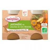 Babybio - Jardinière de Légumes dès 4 mois 2x130g