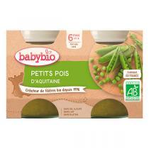 Babybio - Petits pois dès 6 mois 2 x 130g