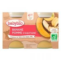 Babybio - Babybio Pomme-Banane 4 mois