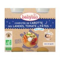 Babybio - Babybio Menu Légumes Pâtes 8mois