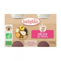 Babybio - Babybio Délice de fruits 4 mois