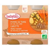 Babybio - Babybio Menu Légumes Veau Fermier