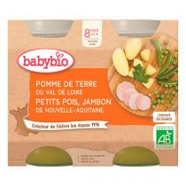 Babybio - Babybio Menu Légumes Jambon