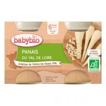 Babybio - Petits pots Panais, dès 4 mois - 2 x 130g
