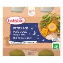 Babybio - Babybio Petits Pois-Maïs-Riz