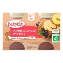 Babybio - Babybio Pomme-Myrtille 4 mois