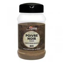 Cook - Poivre noir moulu 220g